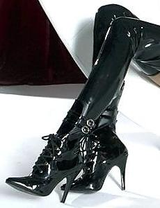 Dominatrix Thigh High Boots